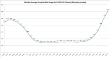 HOSPITAL BED WEEKLY AVERAGE