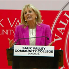 First lady Biden discusses higher education investments in Illinois visit
