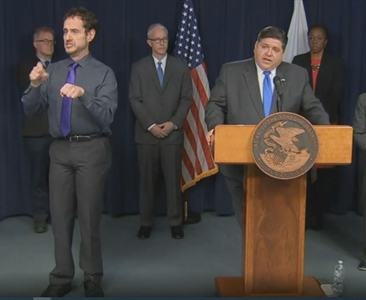 Pritzker issues 'Stay Home' order throughout Illinois; order goes into effect Saturday